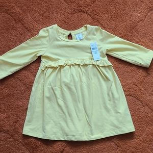 Yellow Long Sleeve Dress from Baby Gap